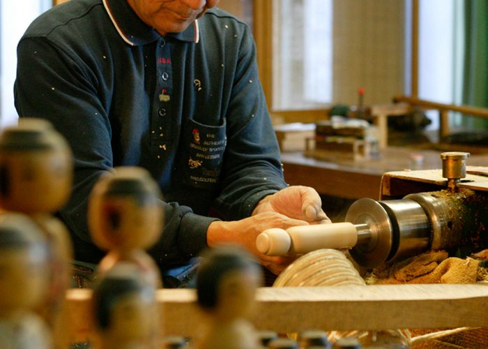National Traditional Kokeshi Craftsman Festival