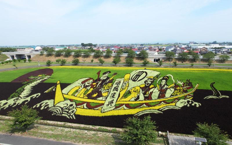 Tanbo Art (rice paddy art)